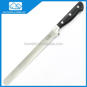Classic 10-Inch Long Ham Slicing Knife With Straight Blade