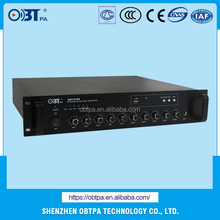 High quality with elegant appearance simple operation IP based public address pa system