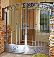 Customized Residential decorative Wrought Iron Baluster for ornament fence/gates