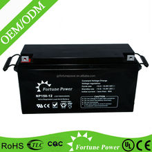 Sealed Lead Acid Maintenance Free UPS Solar Inverter Battery 12v 150ah