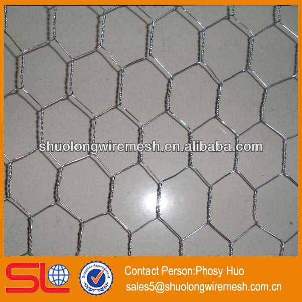Hot sale!Hexagonal wire netting,chicken poultry farms,wire mesh fence