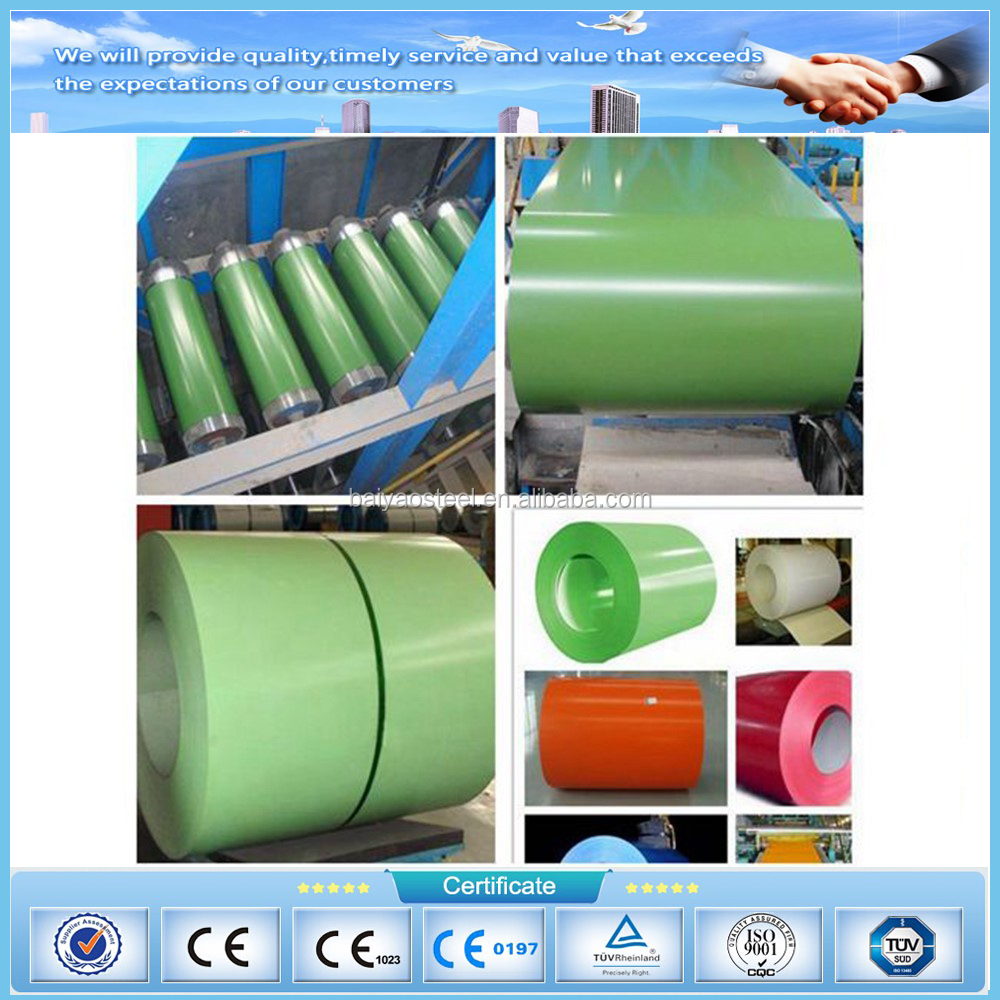 China mill color coated steel coil wood grain ppgi wooden ppgi/GI iron steel coil for sandwich pannel roofing sheet