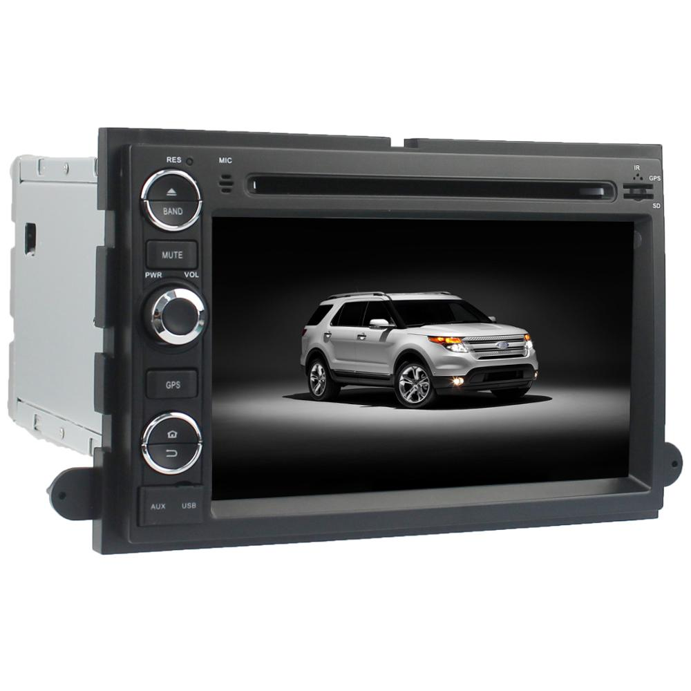 Android 5.1 car radio dvd GPS for Fusion/Explorer/F150/ Edge/Expedition 2006-2009 with wifi 3G mirror link