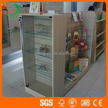 Goods Sell 2-side Wooden Display Gondola