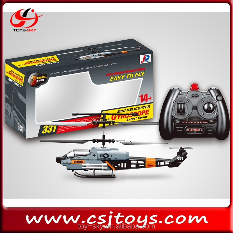 On Sale 3.5 Channel infrared RC helicopter with gyro remote control model aircraft of vehicle
