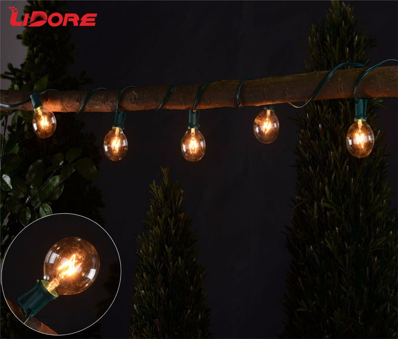 LIDORE UL Incandescent G40 Globe String Light