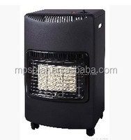Portable indoor butane gas heater for home heating