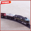 Kids Funny B/O 1:87 Plastic Classic Railway pull back train toy