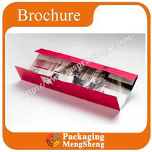 Advertising Brochure Printing with Foil Stamp