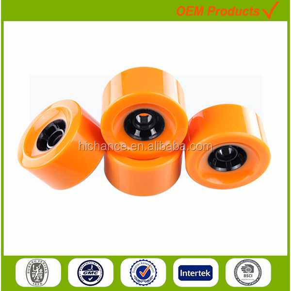90mm High reround electric longboard wheels big PU wheel