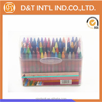 48 color standard size wax crayon sets for coloring