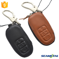 Car Genuine Leather Smart Remote Key Cover Case Holder Accessories For Audi A1 A3 A4 A6 A5 A7 A8 Q3 Q5 S5 S6 RS TT