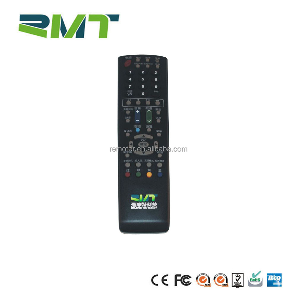 OEM ODM custom ir nobel tv remote control with direct tv channels