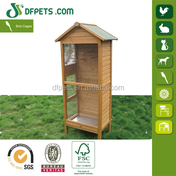 DFPETS DFB010 Wooden Bird House For Parrote Wholesale
