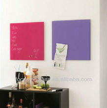 decorative magnetic tempered glass dry erase board