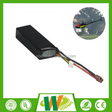 Factory direct 7.4v rc helicopter battery lipo battery 30C 5000mah