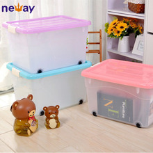 Wholesale Custom Large Plastic Storage Containers with Wheels