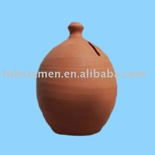 Custom new product high quality clay money box