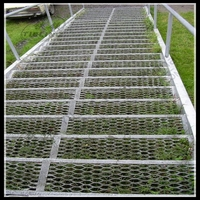 expanded metal lath for floor grilles