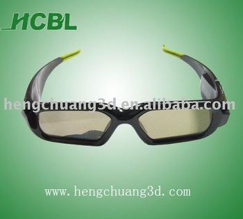 3D Active Shutter Rechargeable Glasses for Panasonic Sharp Sony 3D TV