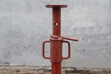 Painted scaffolding steel prop Adjustable Scaffolding shoring pole