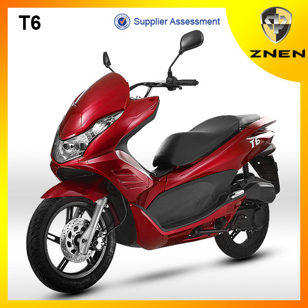 2017 ZNEN MOTOR T6 Sporty Classical Gas Scooter 150CC Vespa Scooter Motorcycle Bikes