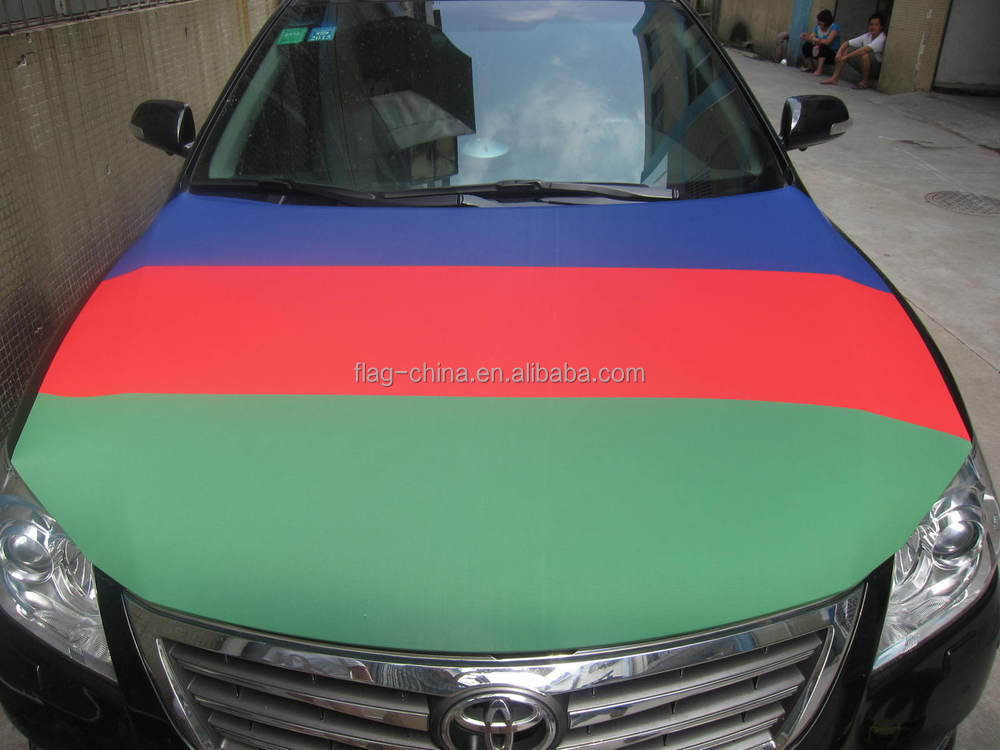 Cheap Custom Made Car Engine Hood Cover Car Flags