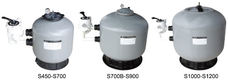 Professional Emaux Swimming Pool Sand Filter in Water Treatment