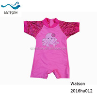 UV protect baby swimsuit swimwear models one piece