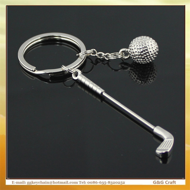 Manufacturers Selling Sport Series Creative Golf Clubs Key chain Wholesale MC5488