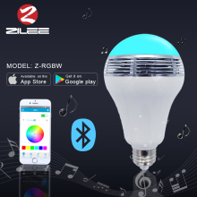 China direct import 6w smart led bulb,led light music box,smart bulb bluetooth