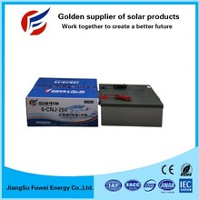 lead acid battery 12v 250Ah VRLA battery for solar power system