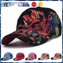 Factory sale custom design baseball caps with solar powered fan reasonable price