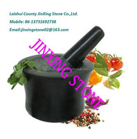 Natural Granite Stone Mortar & Pestle/Herb and Spicy Crusher Tool/Stone Cooking Set
