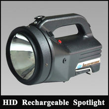 Long Range Handheld Spotlight 100W Powerful Searchlight 12V Candle Power Spotlight Fire Explosionproof Searchlight