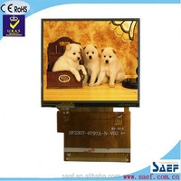 2.3 inch lcd landscape type qvga 320x240 TFT with RTP touchscreen