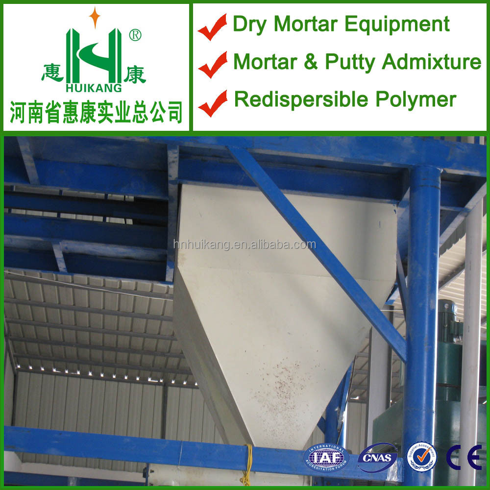 Dry mortar energy saving production line wall plastering equipment