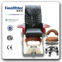 durable luxury beauty store nail salon gravity massage chair with pedicure stool