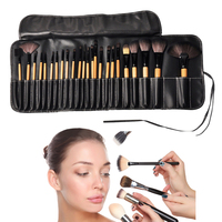Wholesale Private Label Toothbrush Makeup Brush, 24 pcs Cosmetic Makeup Set