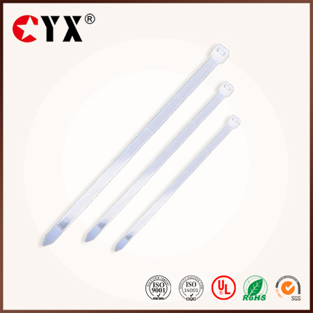 China Supplier plastic cable ties / wire bag ties / rubber twist tie