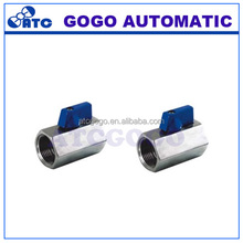 2 way High quality stainless steel mini ball valve 1/4 BSP