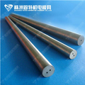 Tungsten carbide rods with two straight holes