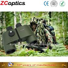2017 Christmas promotionPlastic 7x50 Military forest land force army green field operations directional Compass Binocular