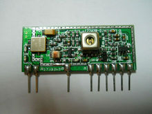 70uA low consumption 433MHZ radio RX model