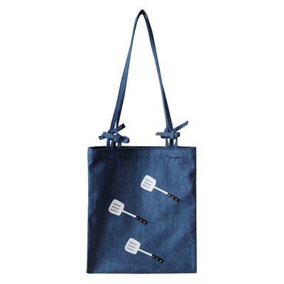 hot sale shoulder <strong>bag</strong> with denim fabric for school boy and girl