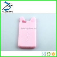 Cute high quality silicone thick cover for mobile phone with fancy shape