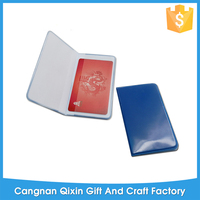 Hight quality 2013 pvc card holder for promotion eco-friendly place card holder Hot-sealing pvc card holder