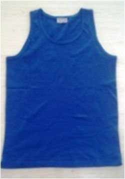 Men`s sleeveless sports shirt