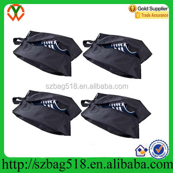 Portable Waterproof Travel Shoe Storage Bags Organizer Pouch with Zipper Closure