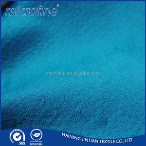 wholesale brushed suede nap fabric for cloth ,sofa,home textile